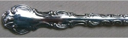 Pompadour 1914 - Large Serving Fork Hollow Handle Style 2